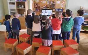 apprentissage de l'anglais en maternelle avec KOKORO lingua