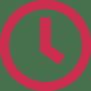 horloge illustrant la durée d'un atelier en anglais KOKORO Lingua