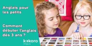 l'anglais pour les petits enseigné par des enfants